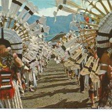 Postales: POSTAL INDIA - NAGALAND, ANGAMI DANCERS FROM KONOMA - SIN USAR. Lote 222074887