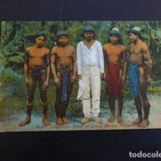 Postales: ISLA DE LUZON FILIPINAS TINGUIANES POSTAL. Lote 223992725