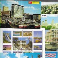 Postales: 90 POSTALES * TURQUIA * LOTE Nº 234. Lote 229587625