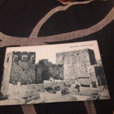 Postales: ANTIGUA POSTAL, JERUSALÉN, TORRE DE DAVID, HUECO GRABADO SA. Lote 238064520