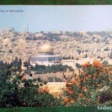 Postales: JERUSALEM TARJETA POSTAL Nº42 SIN CIRCULAR VISTA GENERAL DE JERUSALEM. Lote 240521325