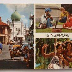Postais: SINGAPUR - P45886. Lote 240546175