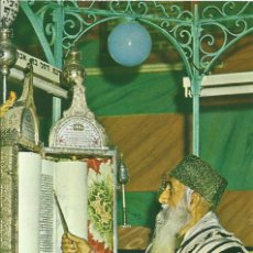 Postales: ISRAEL. HOLY LAND. UN JUDÍO ORIENTAL LEYENDO LA SAGRADA ESCRITURA. 1992. 10X15 CM. ESCRITA DETRÁS. Lote 243893115