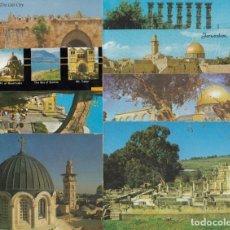Postales: (12) LOTE DE 13 POSTALES DE ISRAEL. Lote 245645060