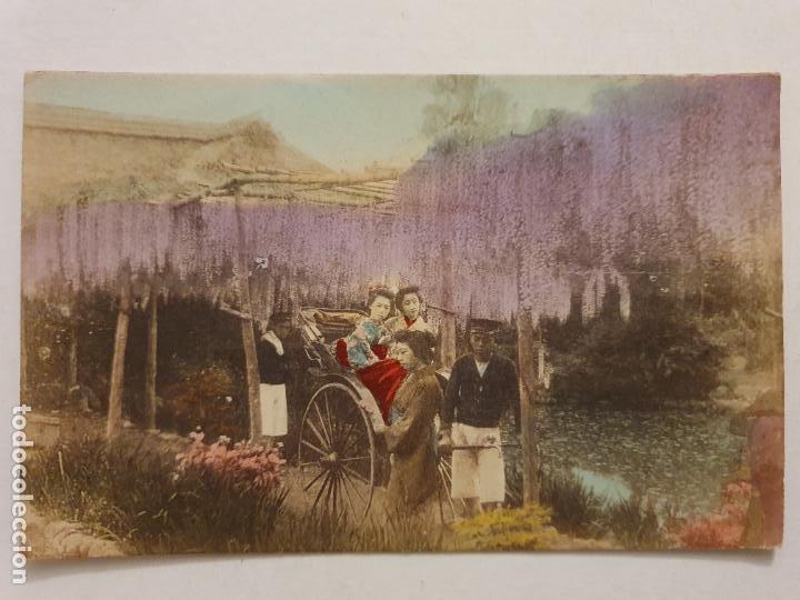 JAPÓN - GEISHAS / MAIKOS - P47579 (Postales - Postales Extranjero - Asia)
