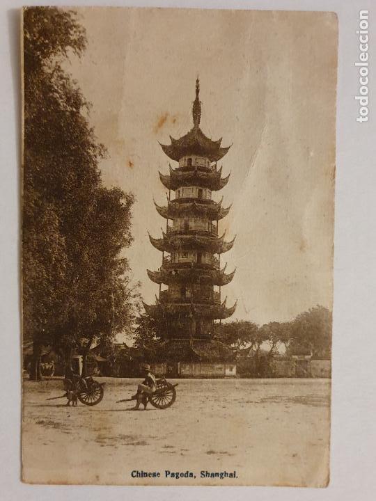 CHINA - SHANGHAI - PAGODA - P47581 (Postales - Postales Extranjero - Asia)