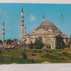 Postales: ISTANBUL - TÜRKIYE - SÜLEYMANIVE CAMII - CIRCULADA. Lote 246107600
