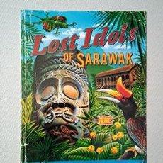 Postales: BORNEO. LOST IDOLS OF SARAWAK. THE HIDDEN PARADISE OF BORNEO. Lote 253342630