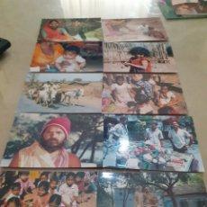 Postales: LOTE 10 POSTALES IMÁGENES COTIDIANAS LA INDIA/PAKISTAN REF 221. Lote 253455080