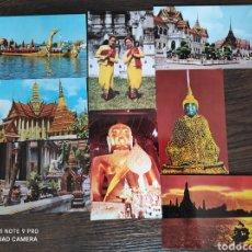 Postales: LOTE 8 POSTALES TAILANDIA - THAILANDIA. Lote 253646830