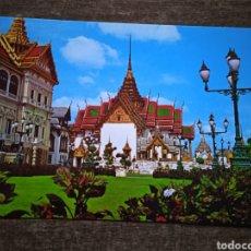 Postales: POSTAL TAILANDIA-THE ROYAL GRAND PALACE, CHAKRI AND SUIT MAGA PRASADH THRONE, BANGKOK. SIN CIRCULAR.. Lote 262495755