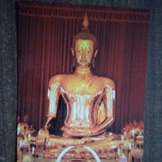 Postales: POSTAL TAILANDIA-THE GOLDEN BUDDHA OF SUKHOTAI UN WAT TRÁIMIT WITHAYARAM WORAWIHARN. SIN CIRCULAR.. Lote 262496210