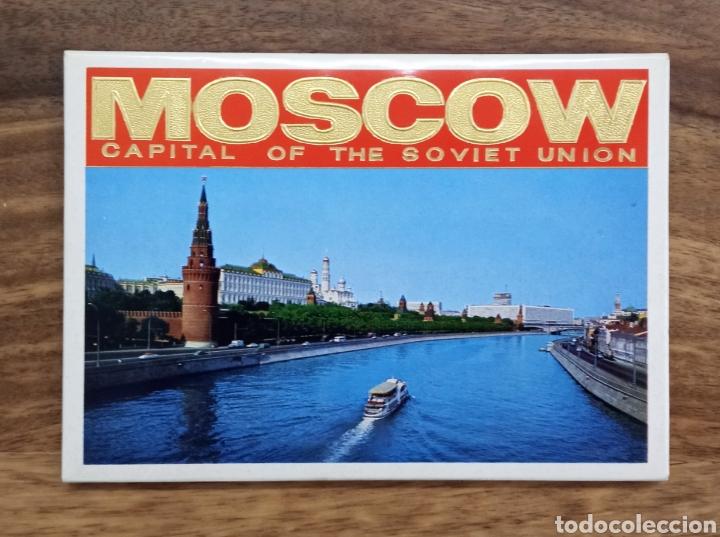 CONJUNTO 13 POSTALES DE MOSCÚ EN SU CARPETA (Postales - Postales Extranjero - Asia)