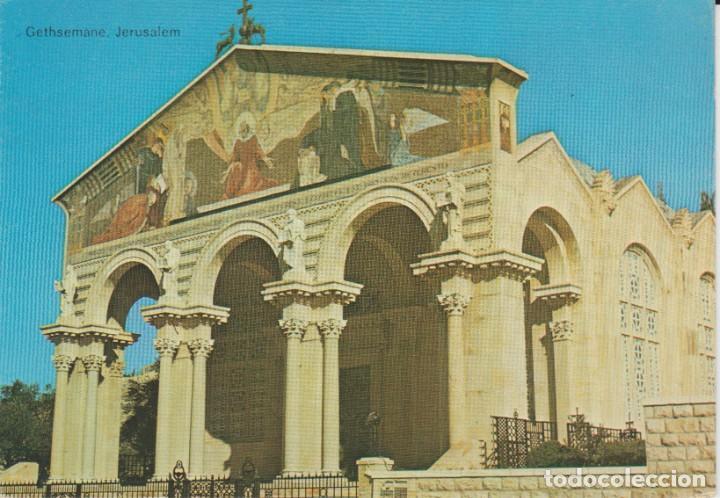 JERUSALEM. ISRAEL. THE CHURCH OF ALL NATIONS . .. SIN CIRCULAR (Postales - Postales Extranjero - Asia)