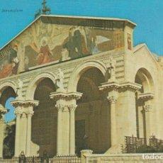 Postales: JERUSALEM. ISRAEL. THE CHURCH OF ALL NATIONS . .. SIN CIRCULAR. Lote 263079985