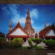 Postales: POSTAL BANGKOK, TAILANDIA-THE GREAT PAGODA OF THE TEMPLE IF DAWN. SIN CIRCULAR.. Lote 263219435
