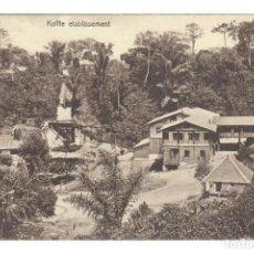 Postales: SUMATRA (INDONESIA) - KOFFLE ETABLISSEMENT - CIRCULADA EN 1915. Lote 265860149