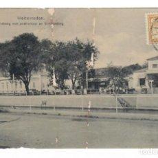 Postales: WELTEVREDEN (INDONESIA) - POSTWEG MET POSTKANTOOR EN SCHOUWBURG - CIRCULADA EN 1913. Lote 265860269