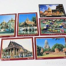 Postales: LOTE DE 6 POSTALES DE TAILANDIA. Lote 267512829