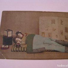 Postales: ANTIGUA POSTAL DE JAPON. GEISHAS O MAIKOS. SIN CIRCULAR.. Lote 269086273