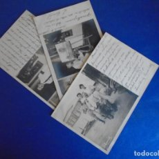 Postales: (PS-65792)LOTE DE 3 POSTALES FOTOGRAFICAS DE MANILA(FILIPINAS)1910. Lote 269952623