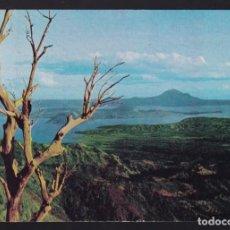 Postales: FILIPINAS. LUZON. BATANGAS. *A VIEW OF TAAL LAKE AND VOLCANO* CIRCULADA 1979.. Lote 270243223