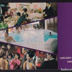 Postales: SINGAPUR. *CUSCADEN HOUSE HOTEL...* MEDS: 109X150 MMS. NUEVA.. Lote 270600003