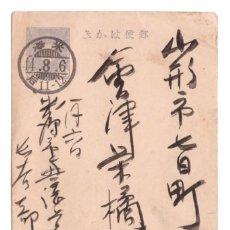 Postales: ENTERO POSTAL DE JAPON - CIRCULADA. Lote 270603218