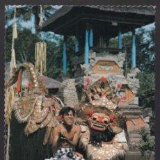 Postales: INDONESIA. BALI. *THE BARONG...* CIRCULADA 1980.. Lote 271566563