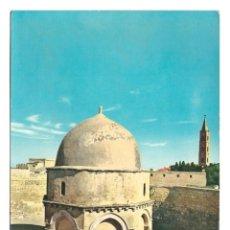 Postales: JERUSALÉN (JORDANIA / ISRAEL) - CAPILLA DE LA ASCENSIÓN - SIN CIRCULAR. Lote 273773718