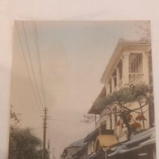 Postales: ANTIGUA POSTAL JAPON. FUKUHARA. KOBE. CIRCULADA 1915. Lote 273948678