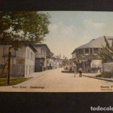 Postales: MANILA FILIPINAS MAIN STREET ZAMBOANGA. Lote 275058218