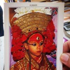 Postales: POSTAL NEPAL KUMARI THE LIVING GODDESS OF KATHMANDU S/C. Lote 277156368