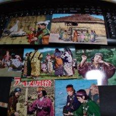 Postales: 6 POSTALES * JAPÓN , COSTUMBRES DE AINU * EN SU SOBRE. Lote 278703373