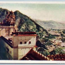 Postales: 1958 INDIA VIEW FROM THE CASTLE OF AMBER REAL PHOTO SOVIET USSR POSTCARD. Lote 278711498