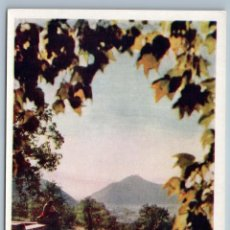 Postales: 1958 INDIA KASHMIR IN ONE OF THE MUGHAL GARDENS REAL PHOTO SOVIET USSR POSTCARD. Lote 278719128