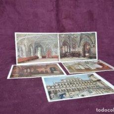 Postales: MOSCÚ, RUSIA, 1933, 5 POSTALES DEL INTERIOR DE UN PALACIO. Lote 287727728