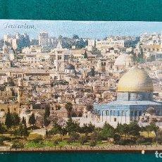 Postales: POSTAL JERUSALEM (1980) VISTA GENERAL. Lote 287901378
