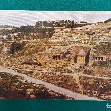 Postales: POSTAL JERUSALEM - VALLY KIDRON A BSHALOM TOMB. Lote 287903028