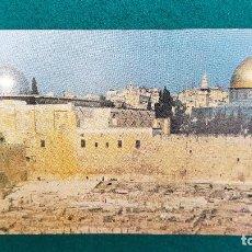 Postales: POSTAL JERUSALEM - THE WESTERN WALL. Lote 287903793