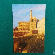 Postales: POSTAL JERUSALEM - DAVID TOWER. Lote 287904883