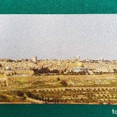 Postales: POSTAL JERUSALEM - SEEN FROM MT. OLIVES. Lote 287905188