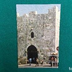 Postales: POSTAL JERUSALEM - HERODES GATE. Lote 287905278