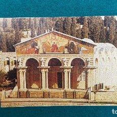 Postales: POSTAL JERUSALEM - THE CHURCH OF GETHSEMANE. Lote 287905903