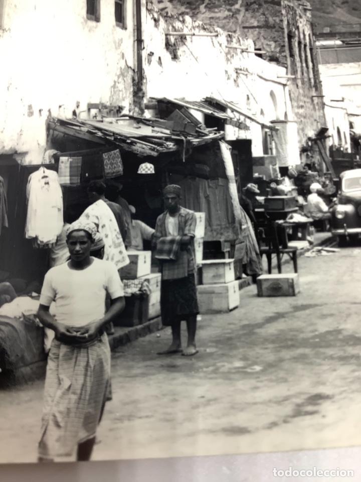 Postales: POSTAL YEMEN, ADEN Native Bazaar, Crater. Photo Dick Ketchian. Circ 1962. - Foto 3 - 288568918