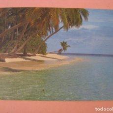 Postales: POSTAL DE ISLAS MALDIVAS. CIRCULADA.. Lote 289257938