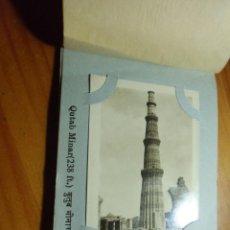 Postales: DELHI(INDIA) ALBUM 16 CAMERA PHOTOS,AÑOS 40.. Lote 289351343