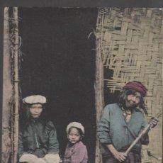 Postales: FILIPINAS 1909. BENGUET INTERIOR OF IGOROTE HOME. Lote 289478838