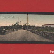 Postales: FILIPINAS. MANILA:OUTER PARIAN GATE. TARJETA DOBLE.RARA. Lote 289480393