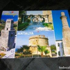 Postales: ANTALYA, TURQUÍA, TARJETA POSTAL. ÑZ. Lote 289916728